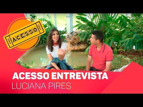 Acesso entrevista Luciana Pires - TV SOROCABA/SBT