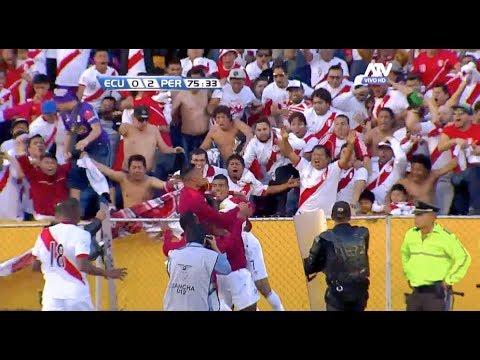 ECUADOR 1-2 PERU Goles de Peru HD 5/09/2017 | Narracion Peredo CMD