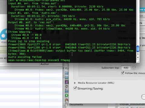 Open source screen casting and audio capture on Mac OSX