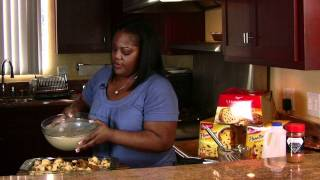 Panettone Bread Pudding Featuring Bauducco Panettone |cooking With Carolyn|