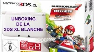 Unboxing - 3DS XL blanche + Mario Kart 7 - édition limitée