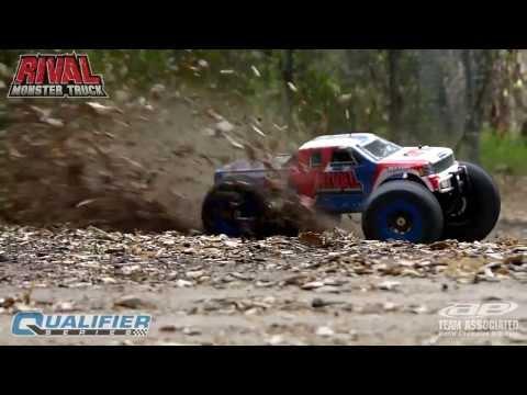 RIVAL Brushless Monster Truck 1/8 RTR Von Team Associated
