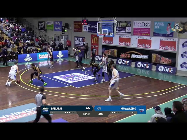 NBL1 Men's Preliminary Final Highlights | Ballarat vs. Nunawading