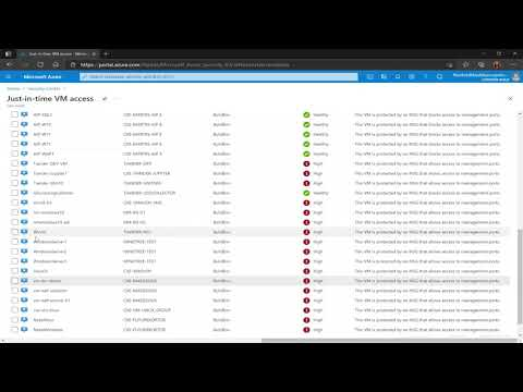Azure Security Center: Enable JIT on your VMs from Azure Security Center