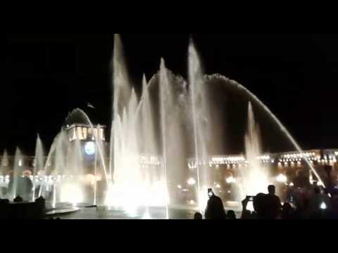Поющие фонтаны в Ереване. Армения  | Irinochka HandMade