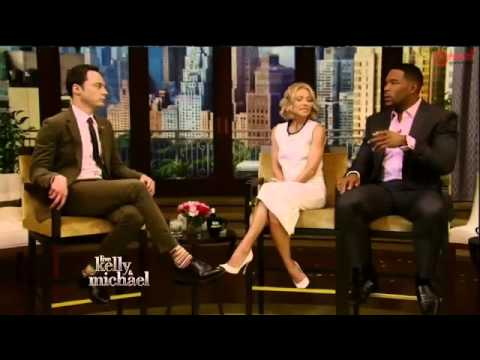 Jim Parsons Interview   Live with Kelly and Michael 2015