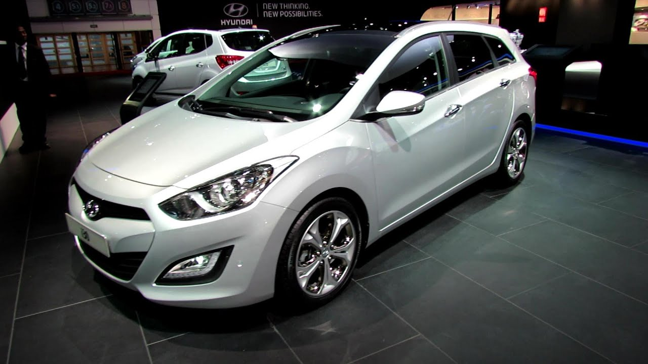 2013 Hyundai I30 Sport Wagon Diesel Exterior And