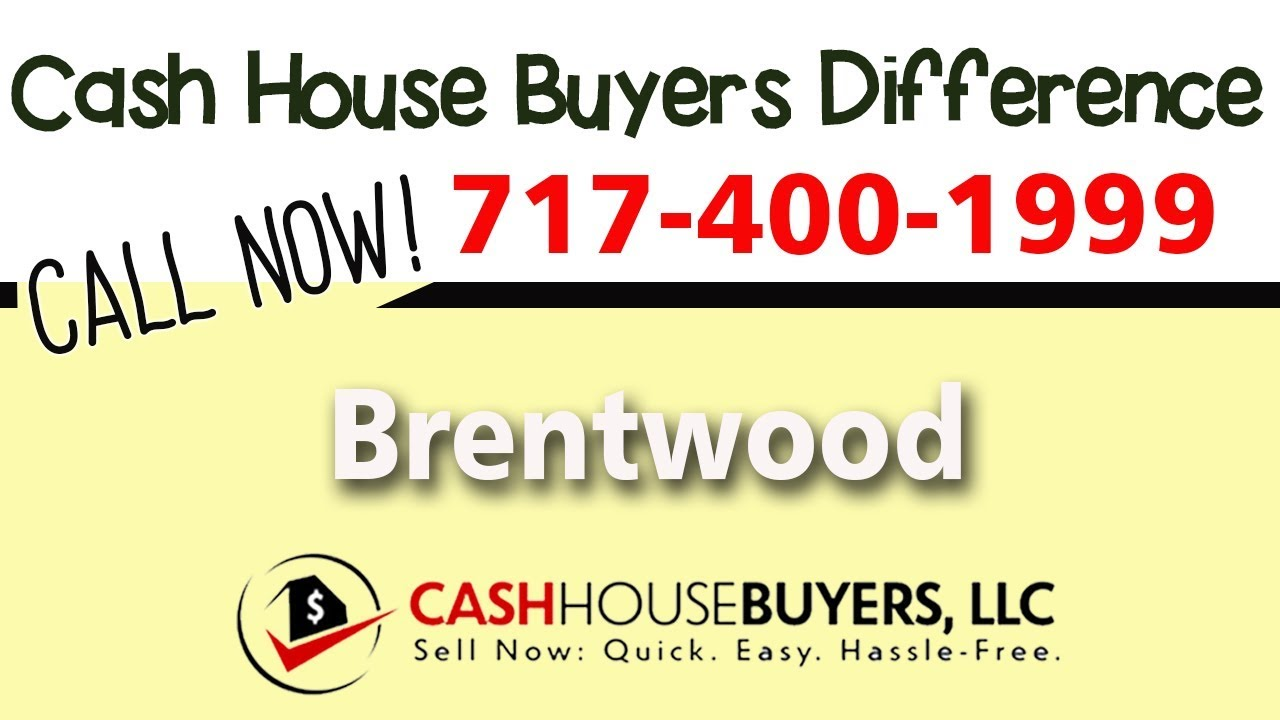 Cash House Buyers Difference in Brentwood Washington DC | Call 7174001999 | We Buy Houses