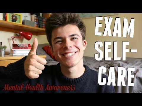 EXAM SELF-CARE TIPS! (Ways to De-Stress in Exam Season) Mental Health Awareness Week | Jack Edwards