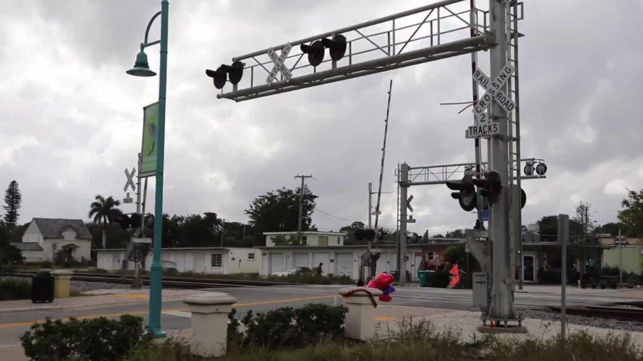 Video: Brightline Train Makes Its Way Through Site of Fatal Train ...