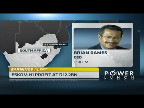 Eskom post interim profit of R12.2bn