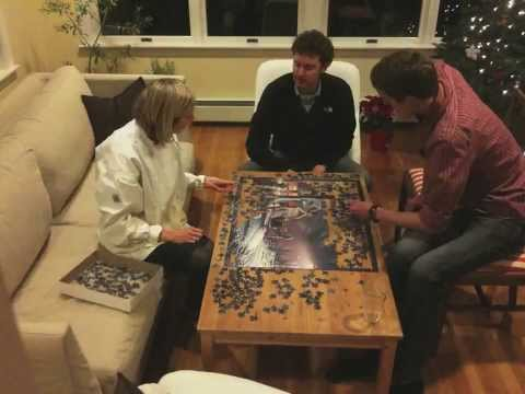 Christmas Puzzle 2013 Time Lapse streaming vf