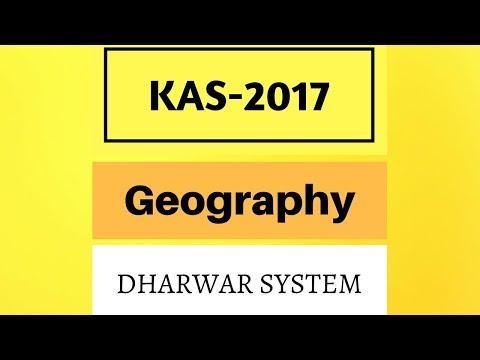 Karnataka Geography, Dharwar System