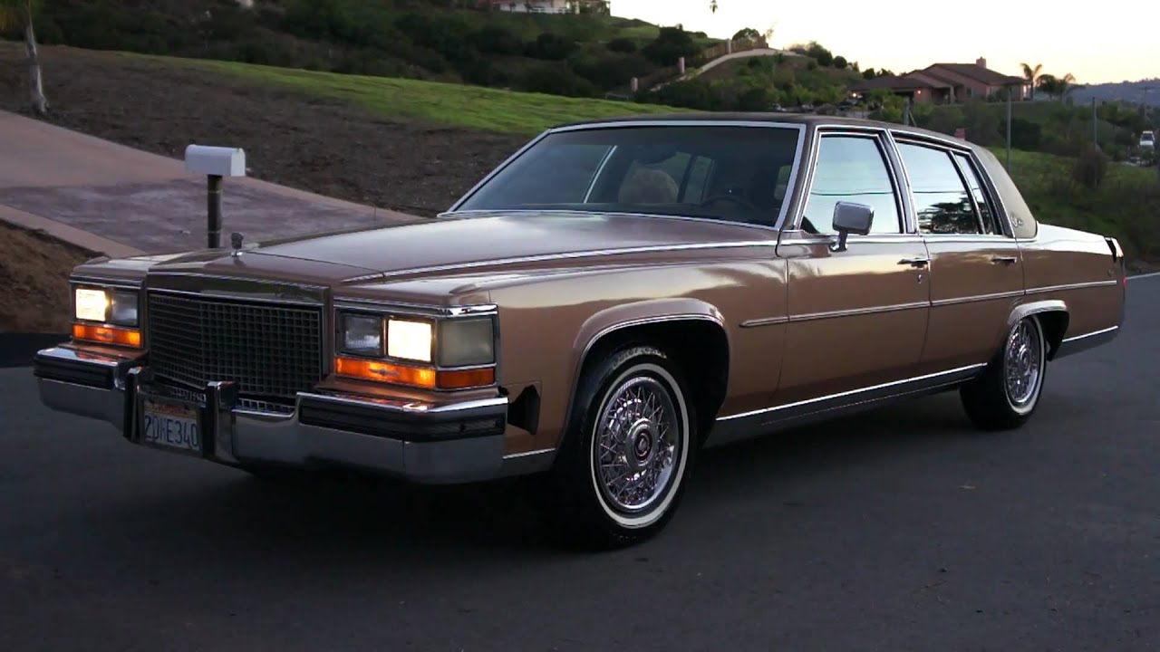 87 Cadillac Fleetwood Brougham De Elegance For Sale 2 Owner Youtube