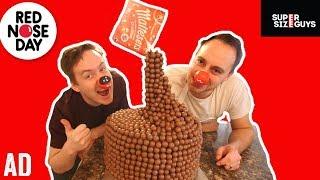 GIANT MALTESERS CHOCOLATE CAKE #ad