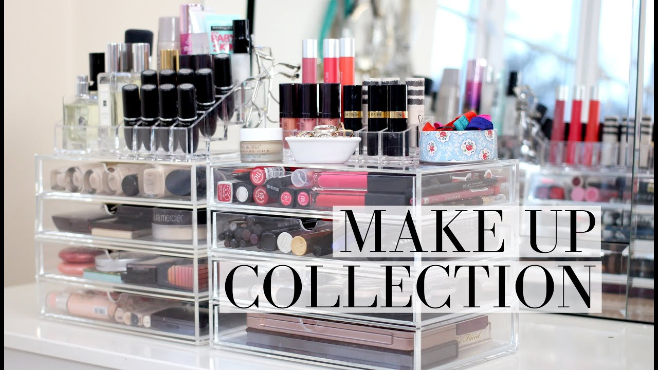 Makeup Storage Containers Make Up Collection And Storage Muji Drawer Tour I Covet