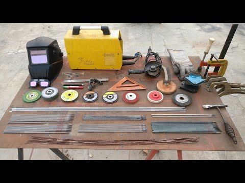 Learn Steel & Stainless Steel Stick welding basics and tools needed