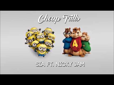 Sia - Cheap Thrills Remix ft. Nicky Jam (Ardillas + Minions)