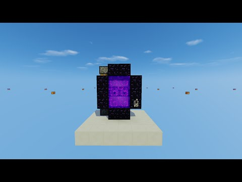 3 Minuti: PORTALE AUTOMATICO - MINECRAFT 1.10 - Tutorial ITA