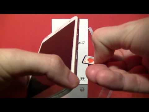 Huawei Ascend G7-L01 - microSD - microSIM | ITFroccs.hu
