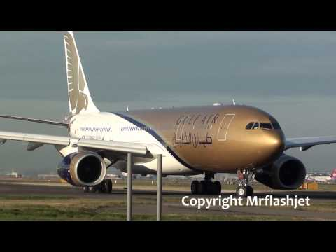 Gulf Air A330 -Extreme Closeup- {A9C-KA} at London Heathrow Airport