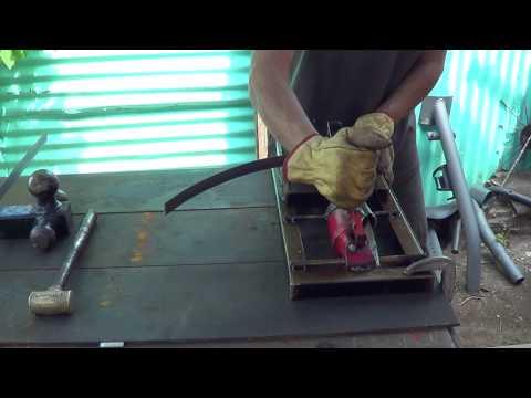 HomeMade Iron Ring Roller