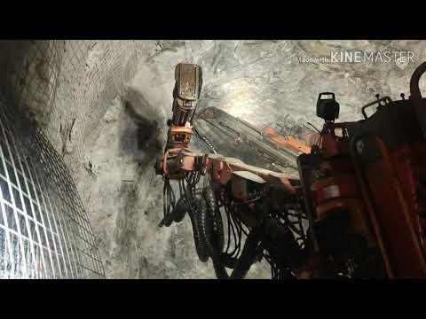 Sceling From Underground Mine, PT. Freeport Tembagapura Papua