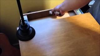 Magnet Lock Type 1 Nightstand - Secret Compartment
