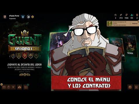 Gwent: The Witcher Card Game | Episodio 1 | Conoce el Menu y los Contratos thumbnail
