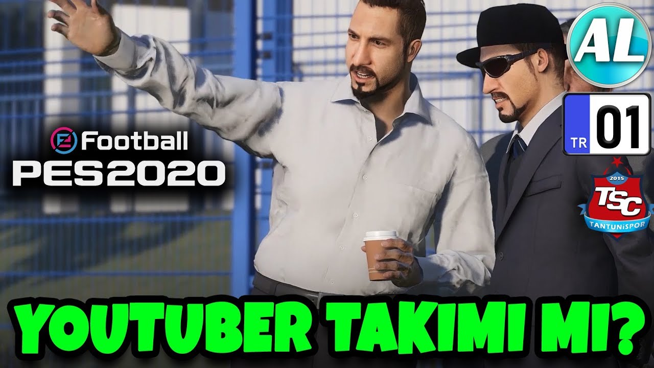 YOUTUBERLERDEN TAKIM KURMAK? | PES 2020 Videosu