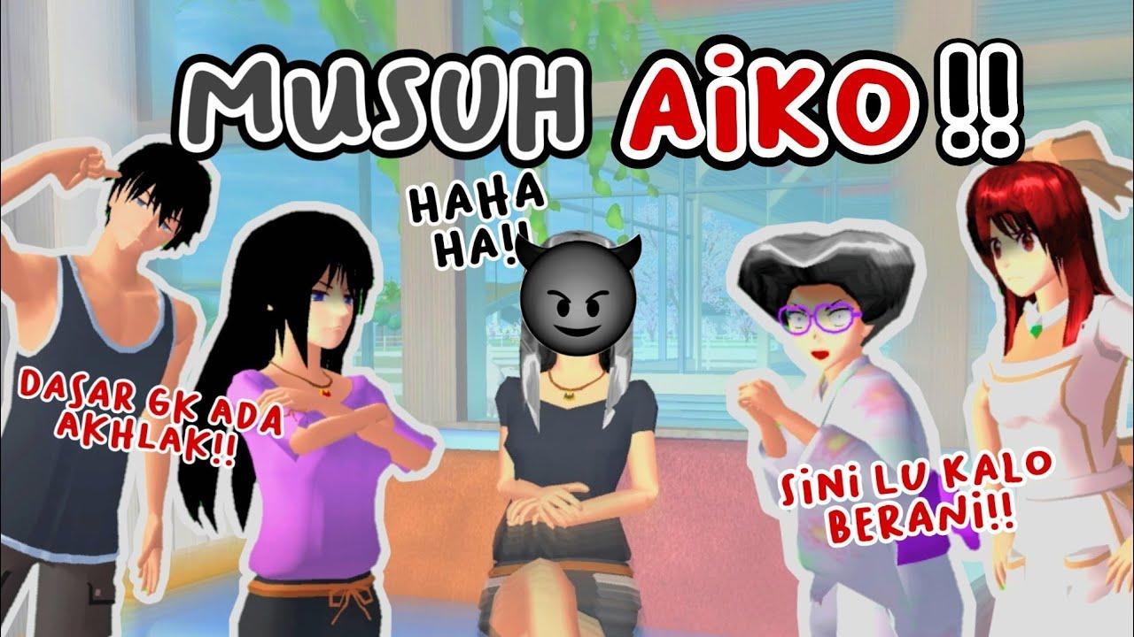 MUSUH AIKO!!😈   DRAMA SAKURA SCHOOL SIMULATOR