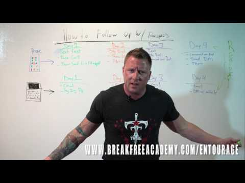 Ryan Stewman (The Funnel Closer) Shows How To Follow Up With Prospects