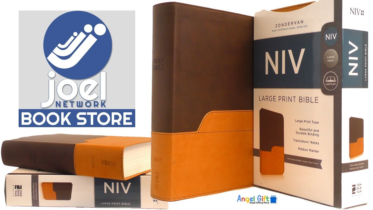 NIV Brown Large Print  English, Paperback, Zondervan Bibles ISBN  9780310429401