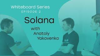 Whiteboard Series with NEAR   Ep: 2 Anatoly Yakovenko from Solana