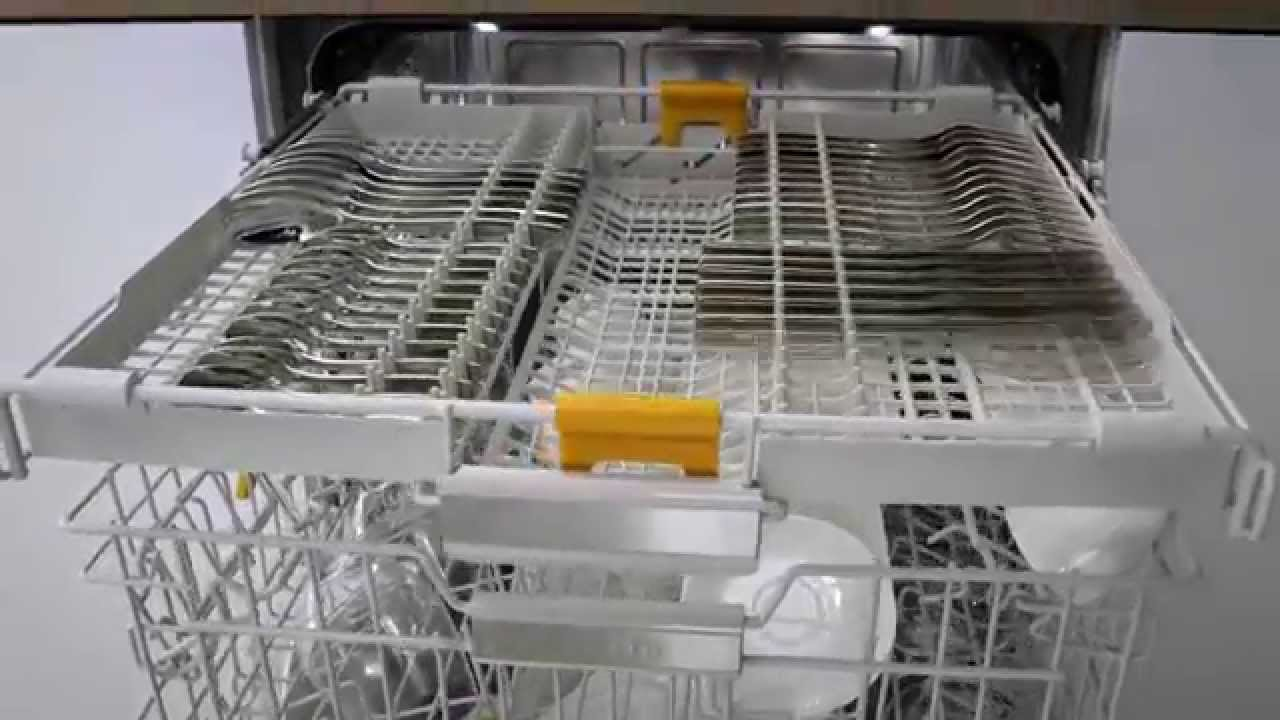 Miele Dishwashers 3d Cutlery Tray Youtube