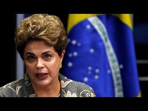 """Dilma Rousseff au Sénat : """"Notre démocratie est mise en danger"""""""