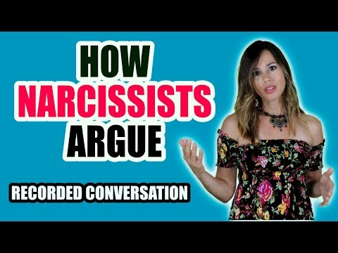 Narcissists Recorded Conversation - How Narcissists Argue - Trigger Warning