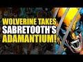 Wolverine Takes Sabretooth's Adamantium!