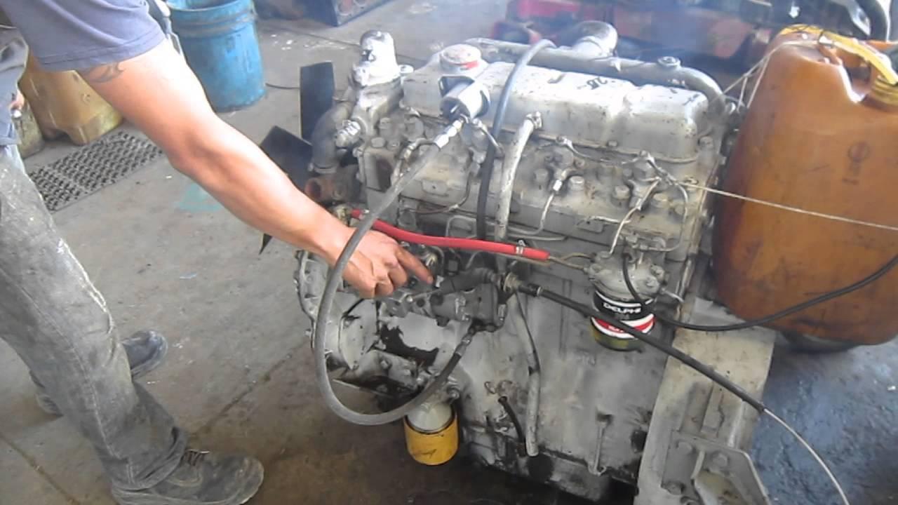 Motor Perkins 4 Cilindros Diesel Youtube