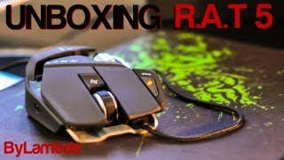 Unboxing R.A.T 5 Mad Catz