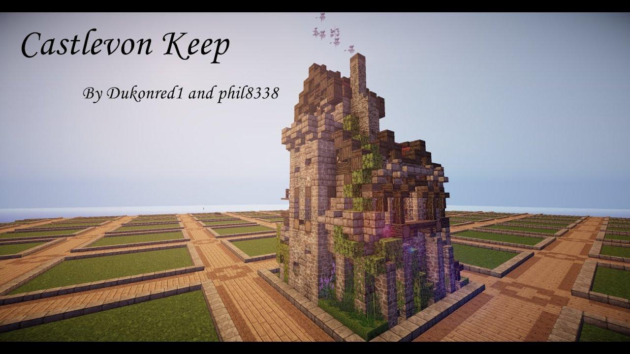 Small Minecraft Castle Castlevon Keep