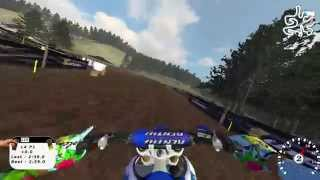 """MX Simulator - track review - """"Cypress Hollows"""" - yz450(2013)"""