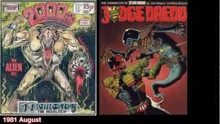 2000AD Timeline 35 years