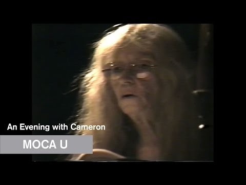 An Evening with Cameron - MOCA U - MOCAtv