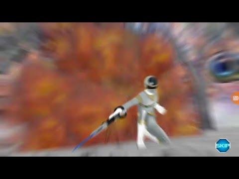 Power Rangers x Super Sentai: MegaSilver vs Zhane Attacks