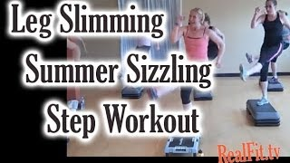 Leg Slimming Summer Sizzling Step Workout (using the journey gym)