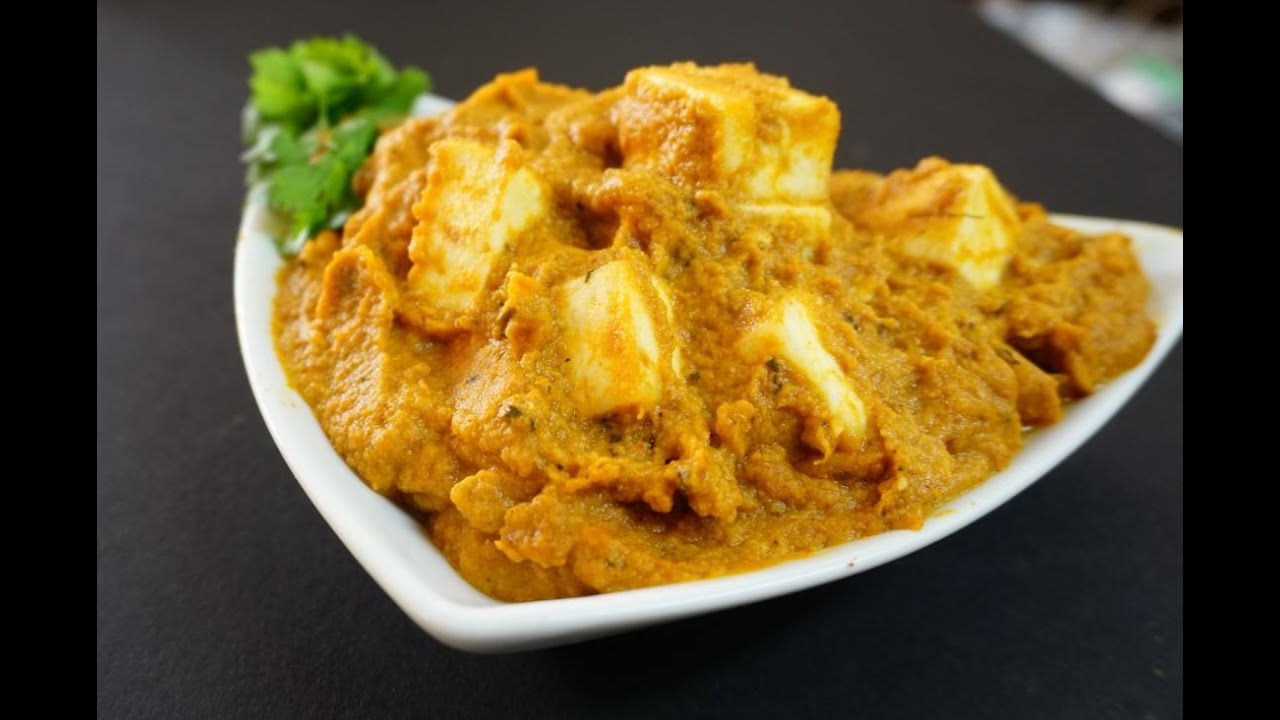 Paneer Butter Masala in Tamil - YouTube