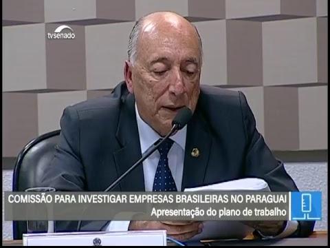 Paraguai - - TV Senado ao vivo - Comissão Externa - 23/05/2018
