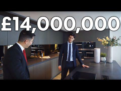 London Apartment Tour: £14 MILLION LUXURY APARTMENT