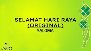 [4.80 MB] Saloma - Selamat Hari Raya (Original) (Lirik)